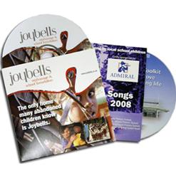 2 Panel CD-DVD Jackets Printing Service