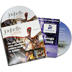 2 Panel CD-DVD Jackets Printing Service