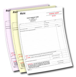 3 Part Carbonless Forms and 3 Part NCR printing