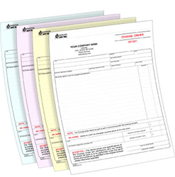 4 Part NCR printing service in uk