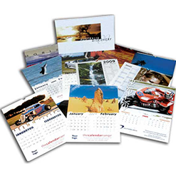 6 Page calendars printing