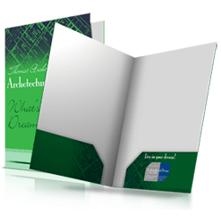 A4 folders printing service