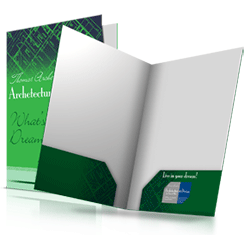 A4 folders printing service
