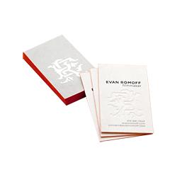 Embossed Business Cards Printing Service Uk Custom Embossed