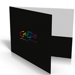 landscape folders printing