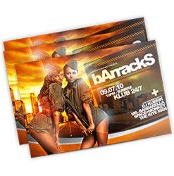 nightclub flyers printing