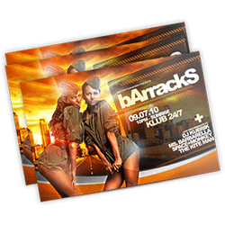 nightclub flyers printing