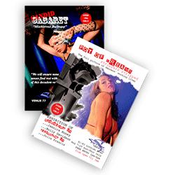 Nightclub Leaflets printing