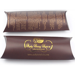 Pillow Packaging Boxes printing service uk