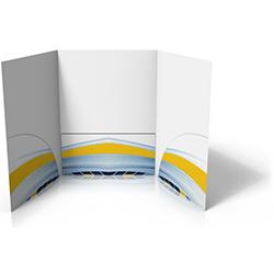 Tri-Panel Folders printing service