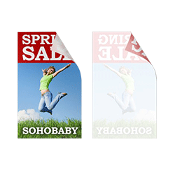 window clings printing service