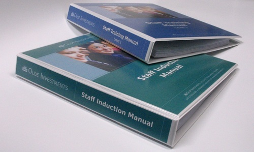 Manuals Printing services in uk