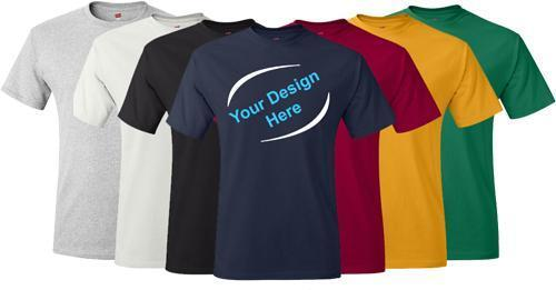 T-Shirts printing services uk